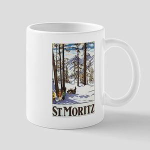 Switzerland Skiing Mug