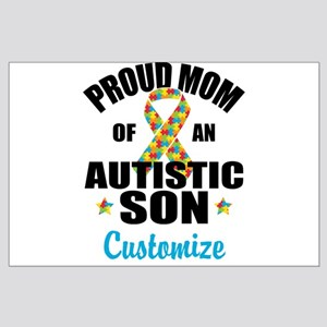 Autism Mom Large Poster