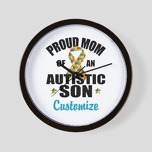 Autism Mom Wall Clock