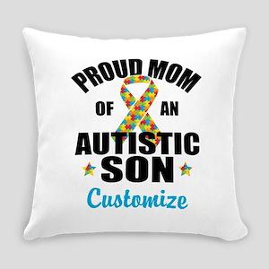 Autism Mom Everyday Pillow