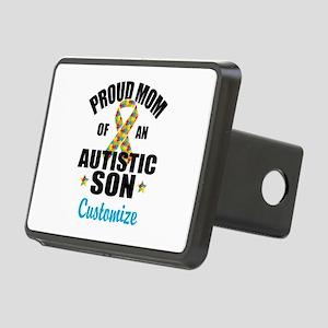 Autism Mom Rectangular Hitch Cover