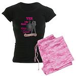 Shoot Like A Girl Women's Dark Pajamas
