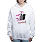 Shoot Like A Girl Women's Hooded Sweatshirt