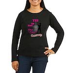 Shoot Like A Girl Women's Long Sleeve Dark T-Shirt