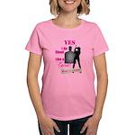Shoot Like A Girl Women's Dark T-Shirt
