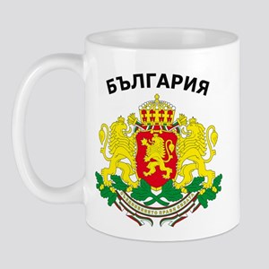 Bulgaria arms with name Mug