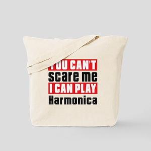 I Can Play Harmonica Tote Bag