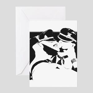 LEATHERMEN KISS Greeting Card