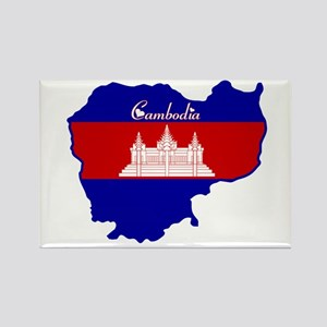 Cool Cambodia Rectangle Magnet