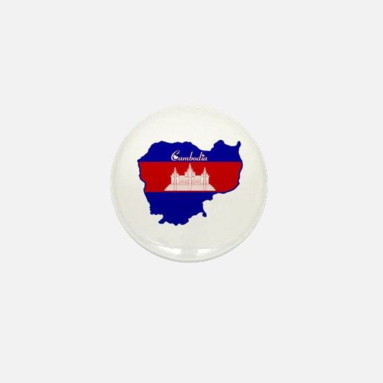 Cool Cambodia Mini Button
