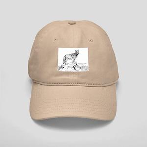 Coyote Ink Drawing Cap