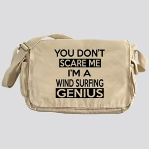 I Am Wind Surfing Genius Messenger Bag