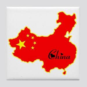 Cool China Tile Coaster