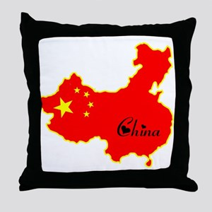 Cool China Throw Pillow