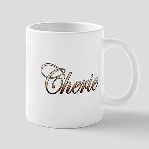 Gold Cherie Mugs