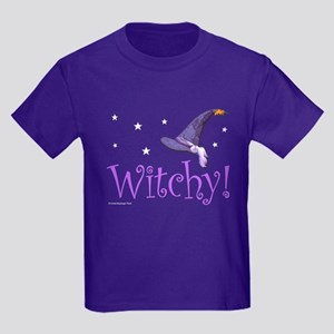 Witchy Hat Kids Dark T-Shirt