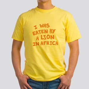 NEW: I Was Eaten by a Lion in Africa Men's T-Shirt