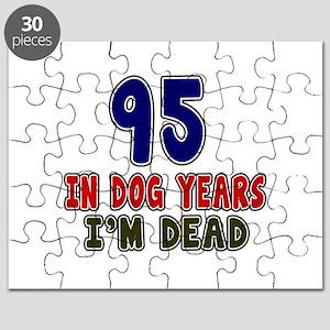 Funn 95 Years Birthday Designs Puzzle