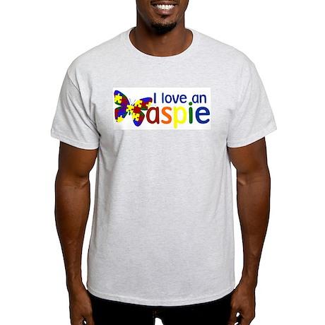 I love an Aspie Light T-Shirt