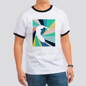 Abstract Surf T-Shirt