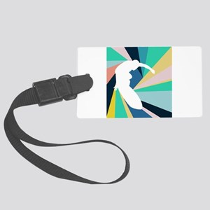 Abstract Surf Large Luggage Tag