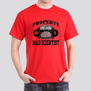 Property of a Mad Scientist Dark T-Shirt
