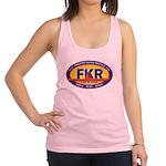 FKR Color Oval Logo Racerback Tank Top