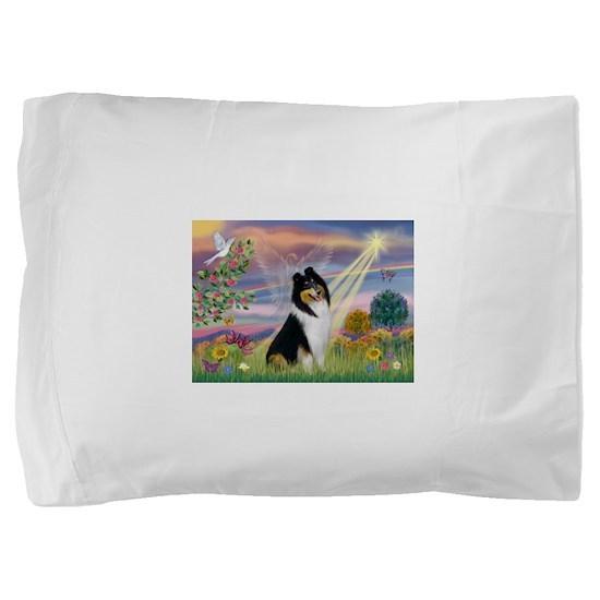 Cloud Angel / Collie Pillow Sham