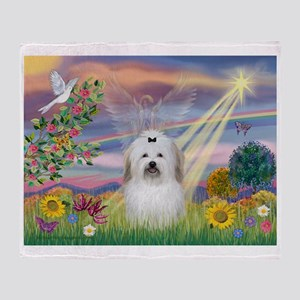 Cloud Angel & Coton Throw Blanket