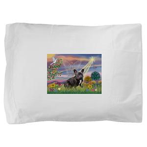 Cloud Angel / Fr Bulldog (bl Pillow Sham