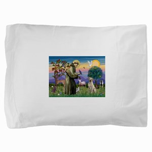 St Francis / Lab (y) Pillow Sham