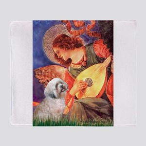 Angel / Lhasa Apso Throw Blanket