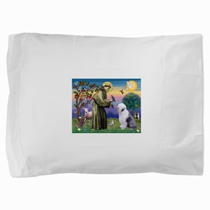 ST. FRANCIS + OES Pillow Sham