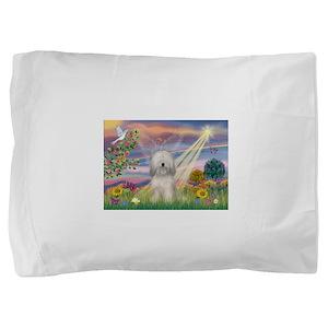 Cloud Angel / Tibetan Terrier Pillow Sham