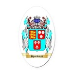 Spackman Oval Car Magnet