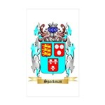 Spackman Sticker (Rectangle 10 pk)