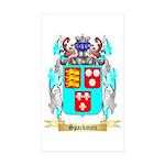 Spackman Sticker (Rectangle 50 pk)