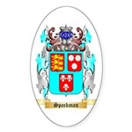 Spackman Sticker (Oval 50 pk)