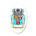 Spackman 20x12 Oval Wall Decal