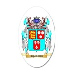 Spackman 35x21 Oval Wall Decal