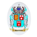 Spackman Oval Ornament