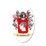 Sowden 35x21 Oval Wall Decal