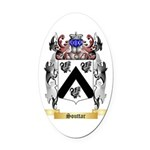 Souttar Oval Car Magnet
