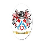 Southwell Oval Car Magnet