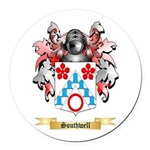 Southwell Round Car Magnet