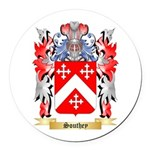 Southey Round Car Magnet