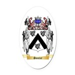 Soutar Oval Car Magnet