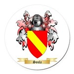 Soula Round Car Magnet