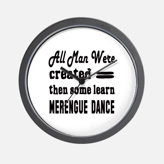 Some Learn Merengue dance Wall Clock