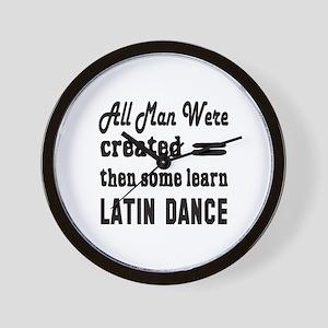 Some Learn Latin dance Wall Clock